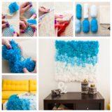 Wonderful DIY Beautiful Pom Pom Wall Hanging