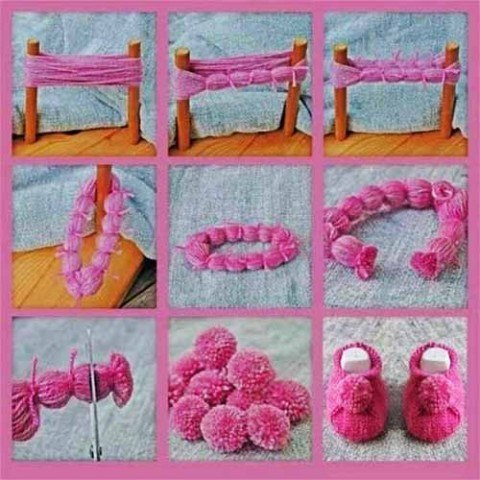 Wonderful Diy Cute Mini Pom Pom Snowmen