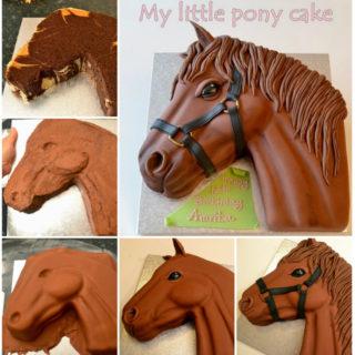 Wonderful DIY Pony Cake With Template