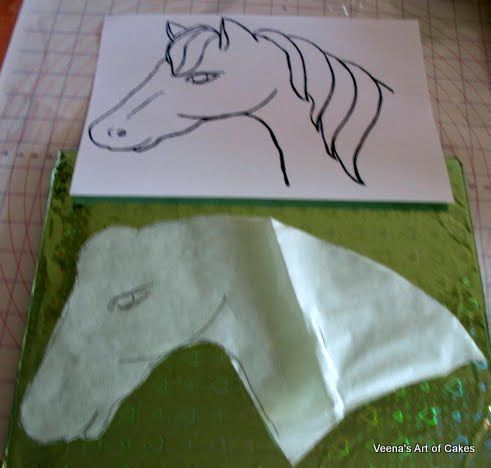 Pony Cake 1 Wonderful DIY Pony Cake With Template