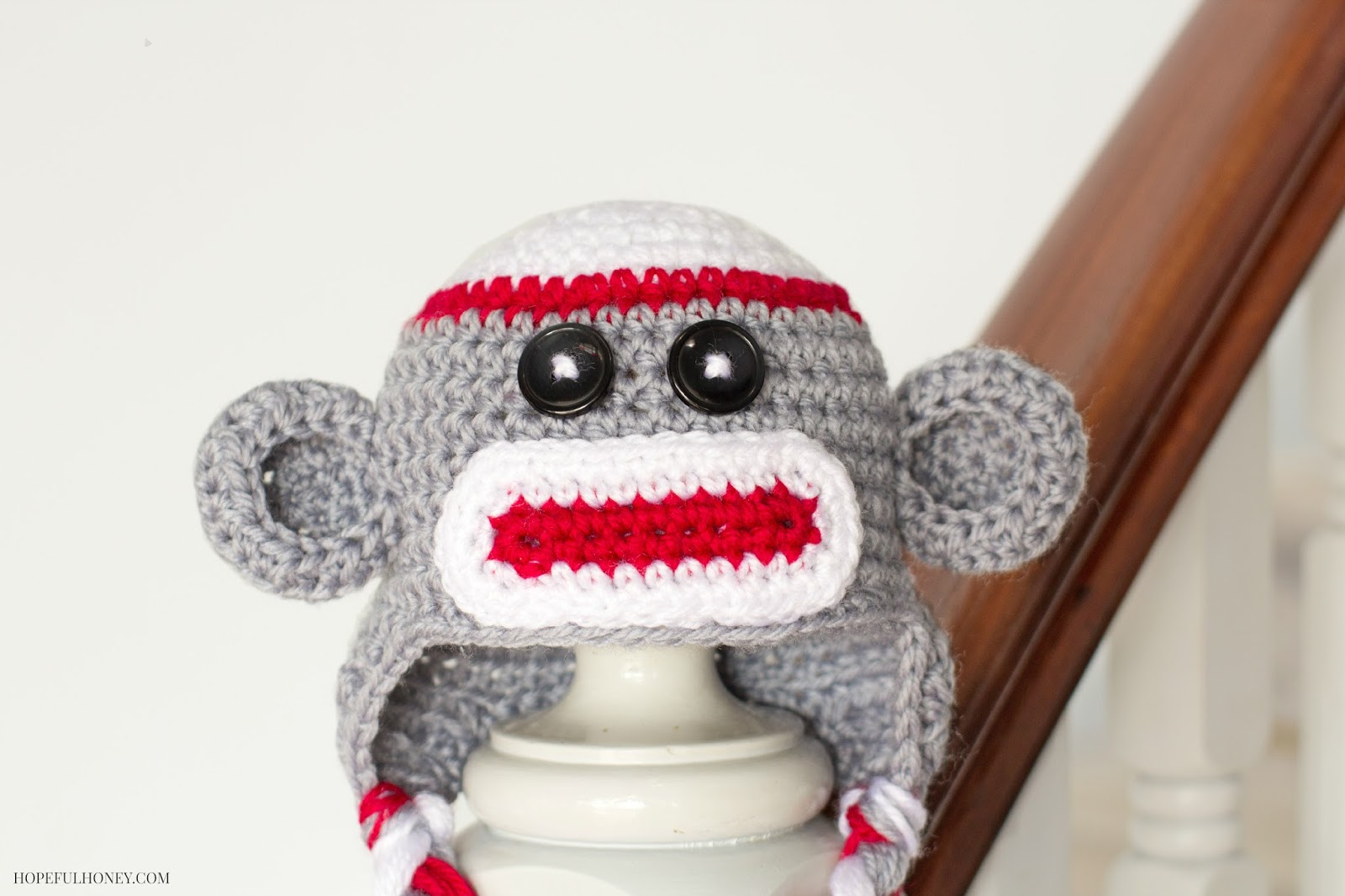 Sock Monkey Baby Hat Crochet Pattern1 Wonderful DIY  Adorable Sock Monkey