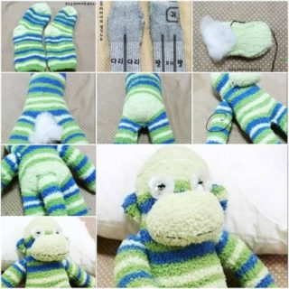 Wonderful DIY Cute Sock Monkey Terry