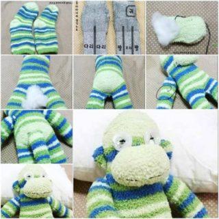 Wonderful DIY Cute Sock Monkey Terry
