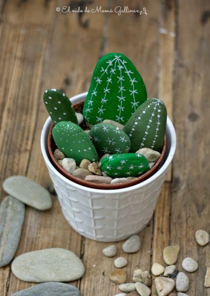 Stone Cactus Yard Art4