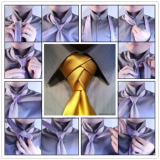 Wonderful DIY Tie A Unique Necktie Knot