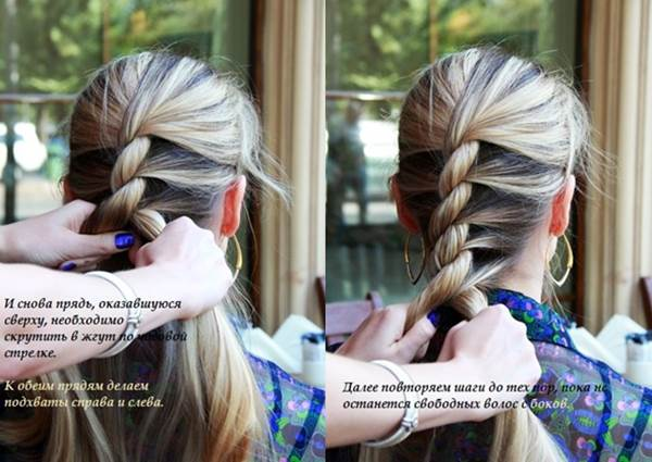 Wonderful diy french twist into rope hairstyle diy french twist into rope hairstyle view in gallery twist rope hairstyle3 view in gallery solutioingenieria