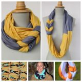 Wonderful DIY Stylish Braided Scarf Knot