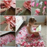 Wonderful DIY Colorful Handmade Rag Rug