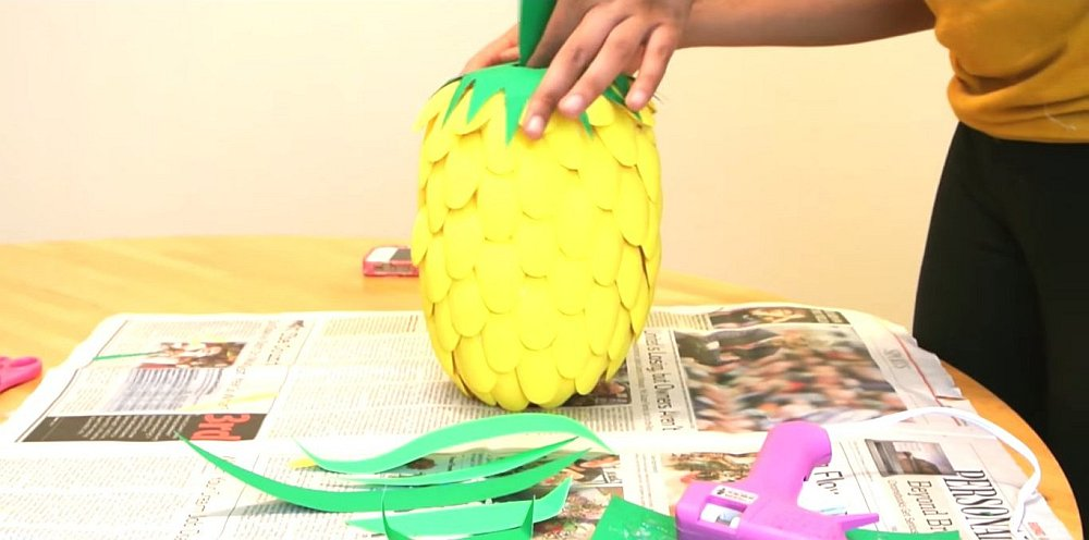 diy pineapple lamp guide
