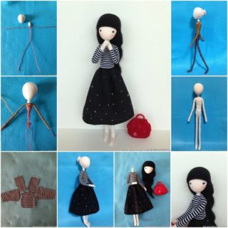 Wonderful DIY Pretty Mini Doll