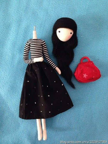 diy pretty mini doll8