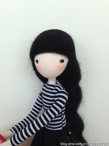diy pretty mini doll9