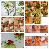 Wonderful DIY Food Art Garnishing