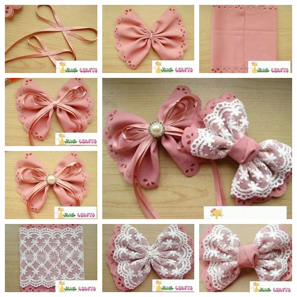 hair bows F Wonderful DIY Pretty  Hair Bows