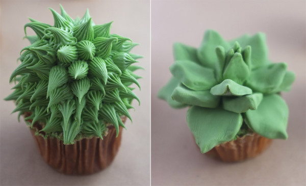 house plant cupcake 4
