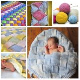 Wonderful DIY  Cozy Knitted Baby Blanket