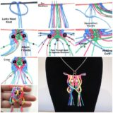 Wonderful DIY Macrame Owl Necklace