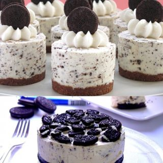 Wonderful DIY  No-Bake Oreo Cheesecake