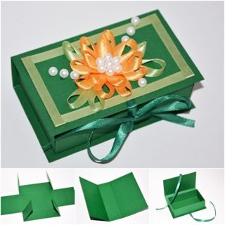 Wonderful DIY Easy Paper Gift box