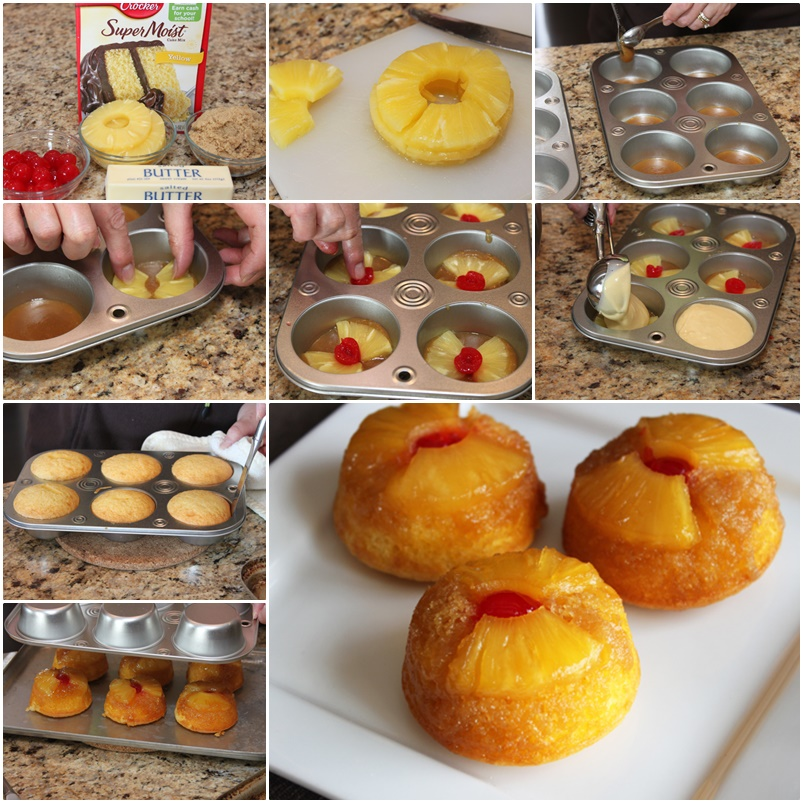 pineapple-upside-down-cupcakes