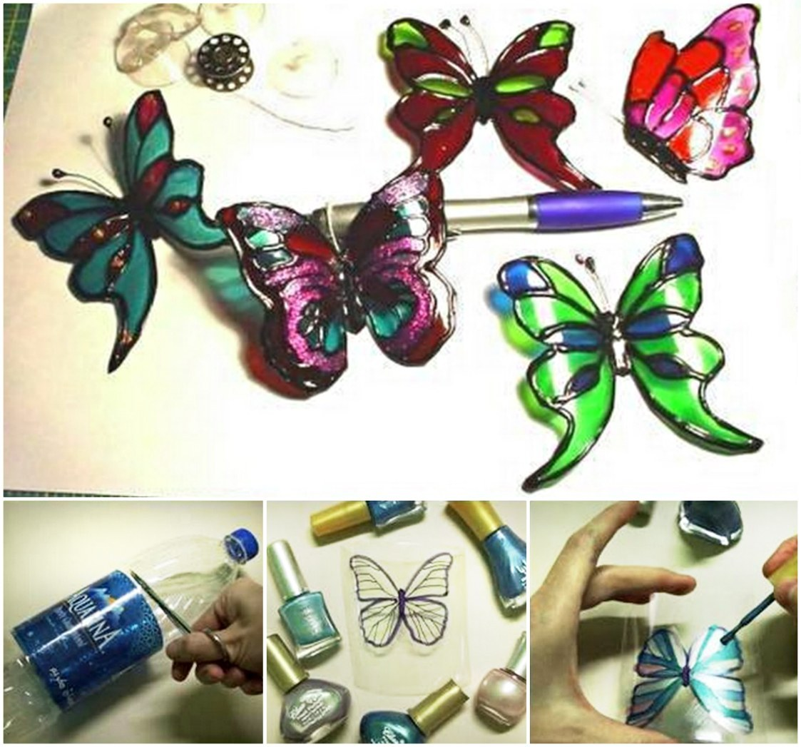plastic-Bottle-Butterflies