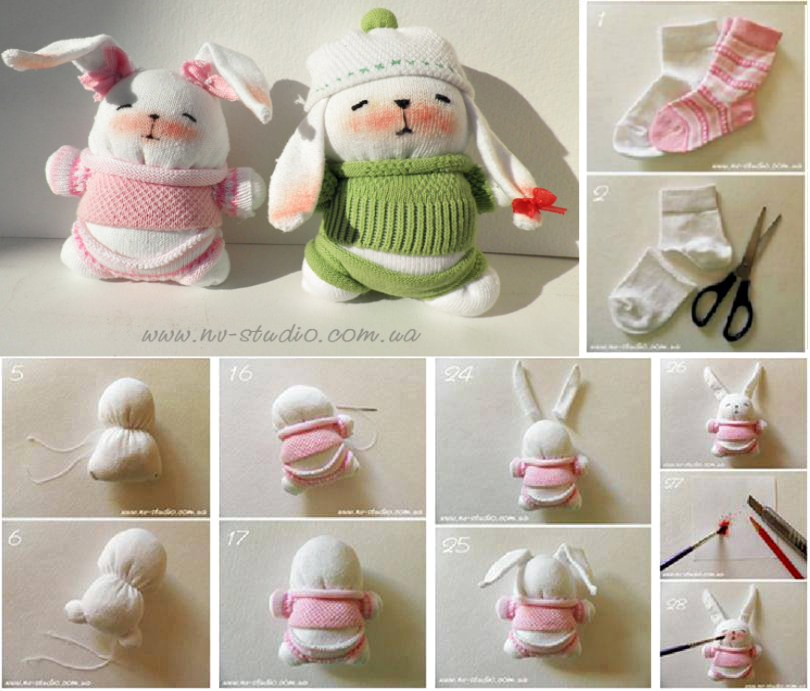 sock-bunnies-wonderfuldiy