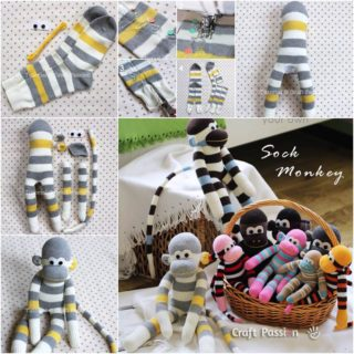 Wonderful DIY  Adorable Sock Monkey