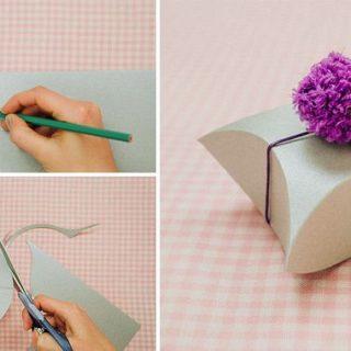 Wonderful DIY Easy Square Pillow Paper Gift Box