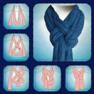 Wonderful DIY Easy to tie your scarf