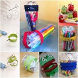Wonderful DIY Zipper Holder From Plastic Bottle
