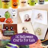 Wonderful 16 Halloween Crafts For Kids
