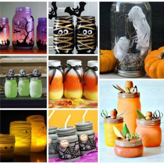 Wonderful 21 Halloween Ideas Using Mason Jars