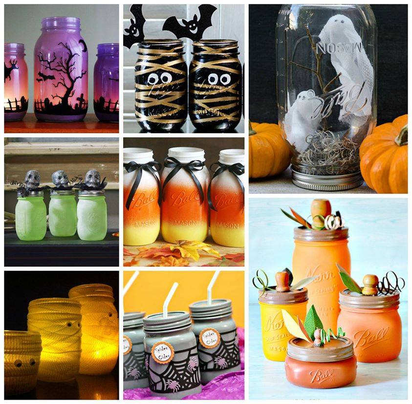 19 Halloween ideas using mason jars Wonderful 21 Halloween Ideas Using Mason Jars