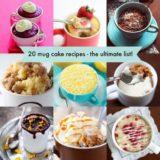 Wonderful 20 Mug Cake Recipes