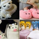 Wonderful DIY Cute Knitted / Crochet Baby Animal Booties