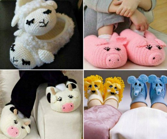 Wonderful Diy Cute Knitted Crochet Baby Animal Booties