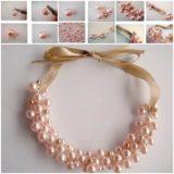 Wonderful DIY Beautiful Pearl Necklace