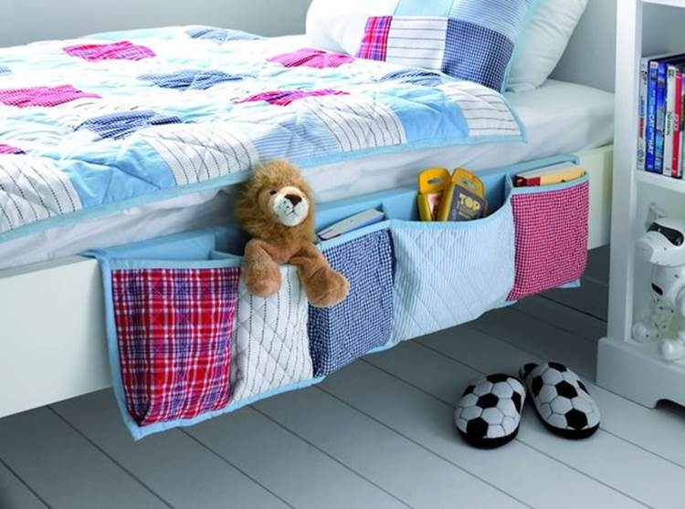 Bedside-Organizer DIY