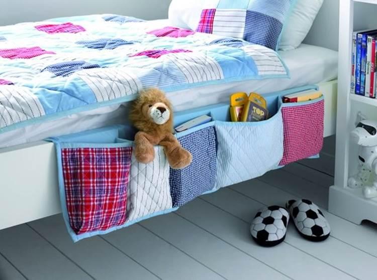 Bedside Organizer DIY Wonderful DIY Useful Hanging Bedside Organizer