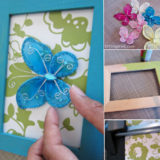 Wonderful DIY Beautiful Butterfly Frame Wall Art
