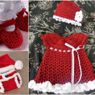 The Cutest Christmas Crochet Gift Set for Girls