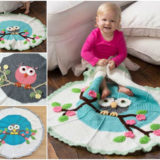 Wonderful DIY Gorgeous Crochet Owl Blanket