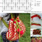 Wonderful DIY Cute Crochet Strawebrry