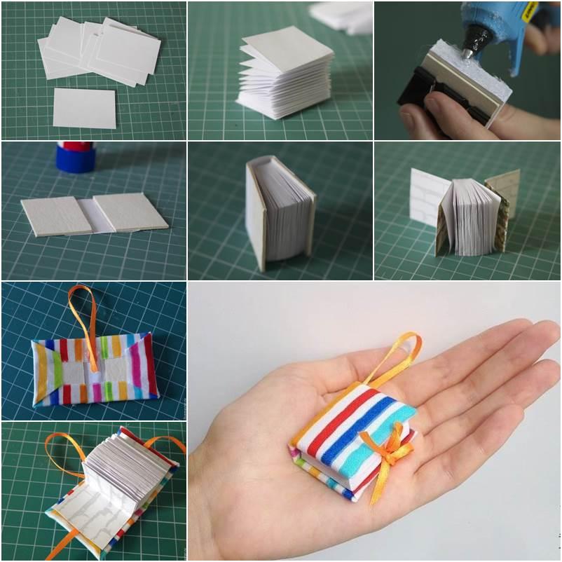 Cute Diary Book Keychain F Wonderful DIY Mini Diary Book Keychain