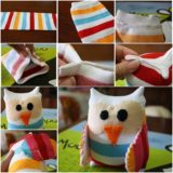 Wonderful DIY Adorable Sock Owl