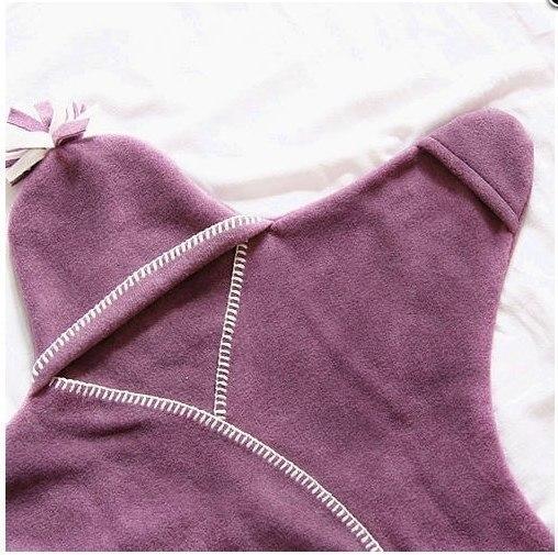 Make Your Own Shining Star Fleece Baby Wrap