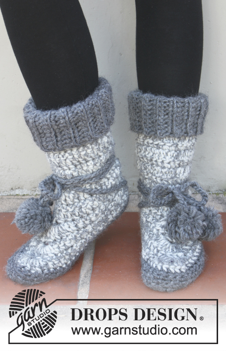 Free Knitted Crochet Slipper Boots Patterns Delectable Free Crochet Slipper Boots Patterns For Adults