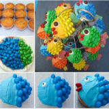 Wonderful DIY Easy Cute Fish Cupcakes