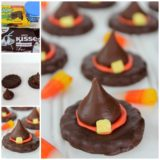 Wonderful DIY Quick Halloween Witch Hat Treats