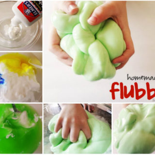 Wonderful DIY Fantastic Homemade Flubber For kids